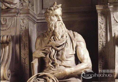 米开朗基罗雕塑作品之摩西雕像赏析