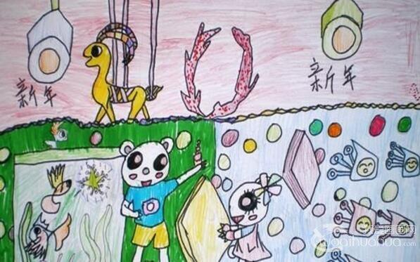 彩色铅笔画的绘画步骤