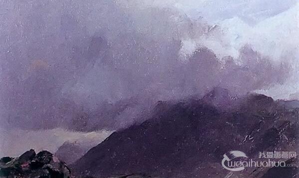油画中如何表现天气的感觉