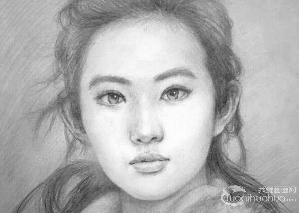 人物素描的技巧与绘画步骤