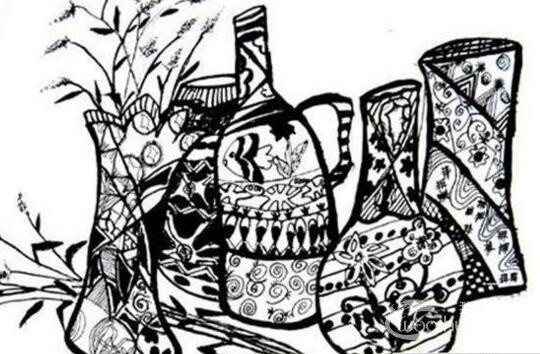 画一幅保护环境的图画-黑白手绘 一组环保题材的黑白手绘漫画图片欣赏 2