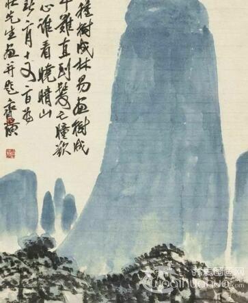国画大师齐白石作品在美国展出