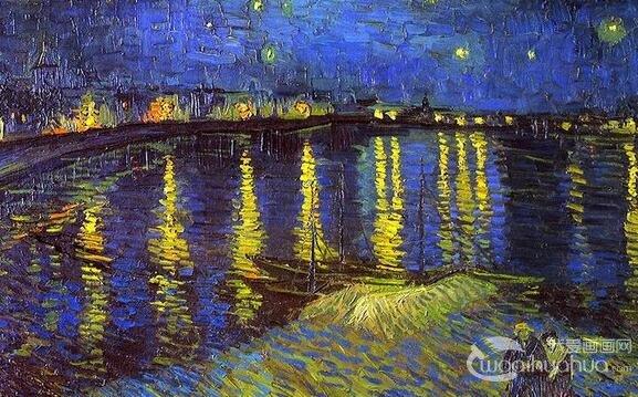 风景油画#油画作品欣赏著名油画 —乐而言  2016-08-10 2 3384
