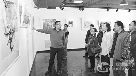 佟玲版画作品展在当代美术馆举办