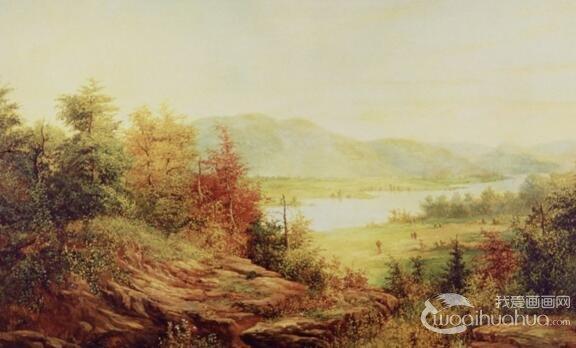 风景油画作画基本颜色是什么