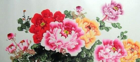 中国画牡丹花_中国画牡丹画组图,写意牡丹画图片