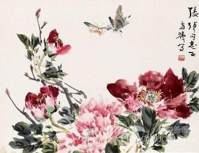 中国国画之写意花鸟画的用笔、用墨