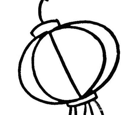 灯笼简笔画图片大全:新年和春节简笔画灯笼-灯笼简笔画图片大全