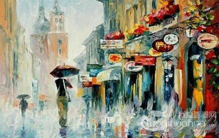 油画知识:风景油画的技法要点
