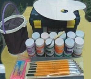 水粉画在进行描绘时材料选择的重要性