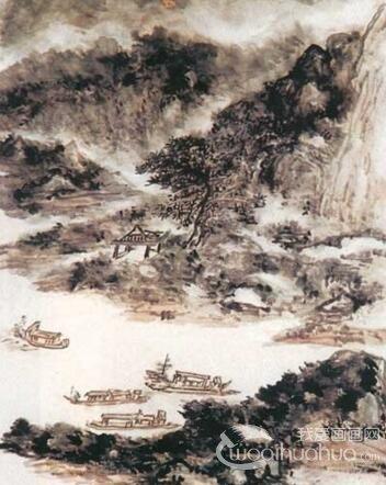 国画大师黄宾虹绘画作品精选