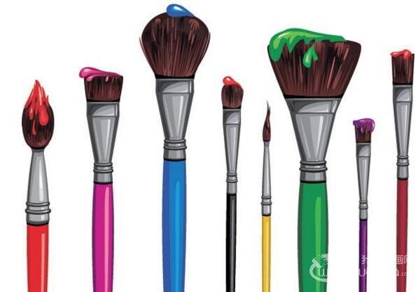 如何保养油画笔