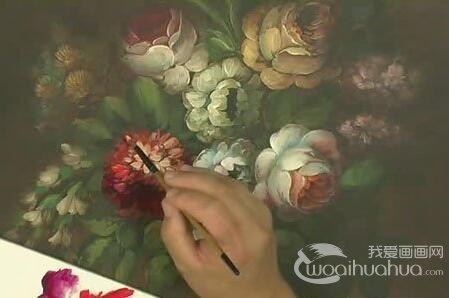 油画教程:古典油画直接画法