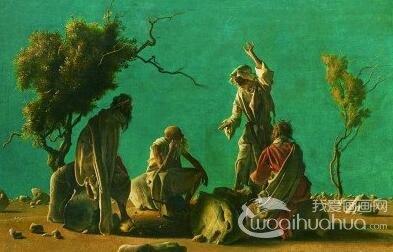 意大利画家阿尼戈尼人物画欣赏
