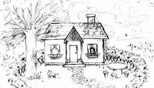 """""""房树人""""绘画投射技术基本理论及在儿童心理辅导中的运"""