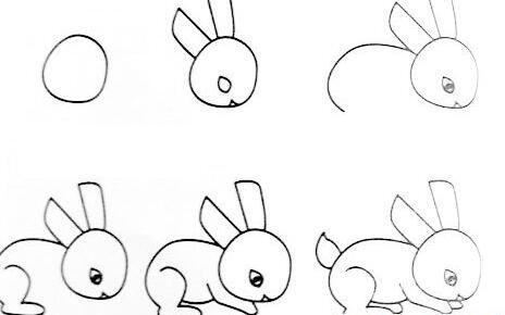 动物简笔画:各种小动物简笔画教程大全