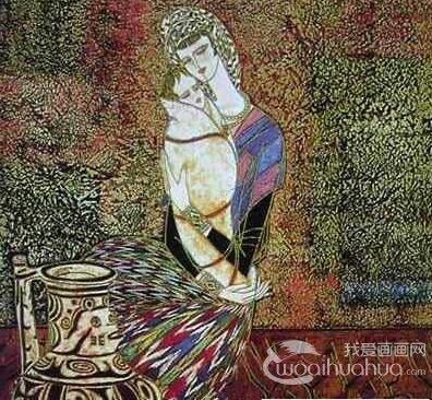 中国著名水粉画图集与欣赏
