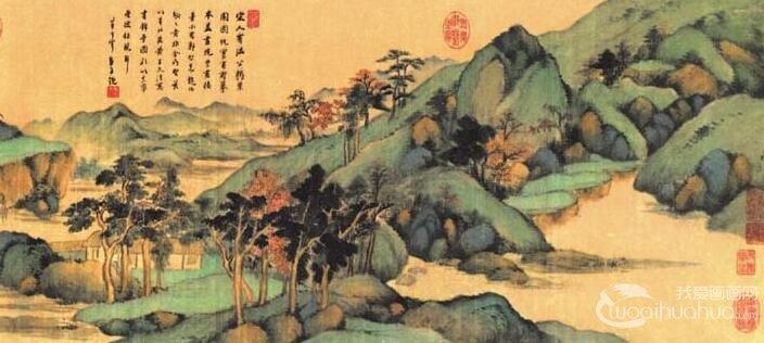 从画面景物看,正…… 工笔山水画 —梦仲行  2016-08-25 2 3619