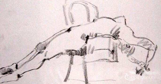 澳大利亚画丁志强13副人体速写作品高清大图赏析