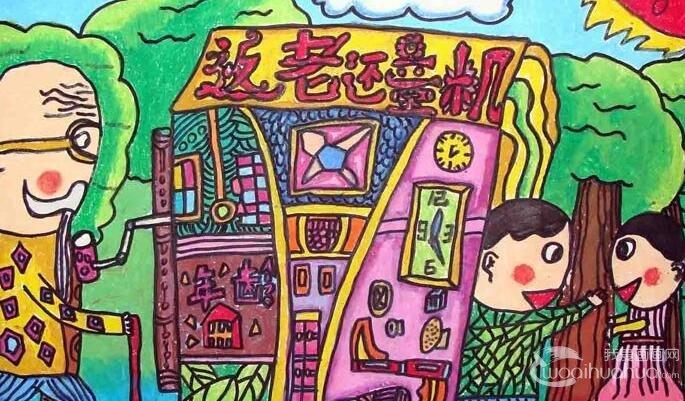 小学生科幻画比赛作品展示_福清元洪师范学校附属小学2011科幻画-