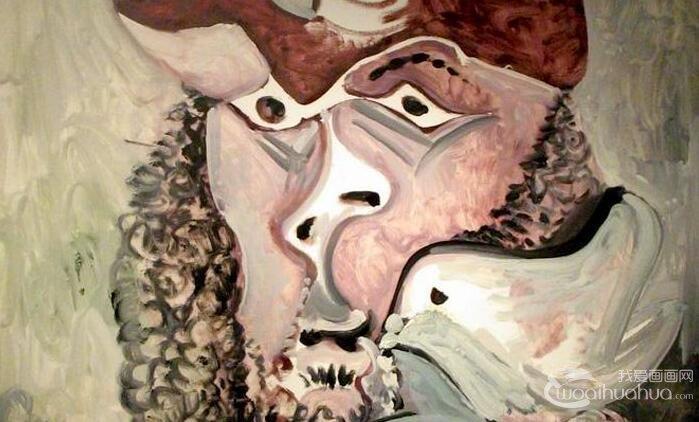 毕加索《带鸟的步兵》_毕加索晚年油画人物抽象作品赏析