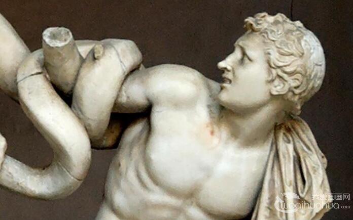 《拉奥孔》大理石群雕_希腊时期雕塑名作,世上最完美的雕塑作品