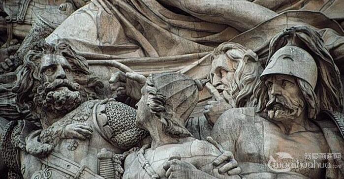 浮雕《马赛曲》_十九世纪法国最优秀的浪漫主义雕塑作品之一