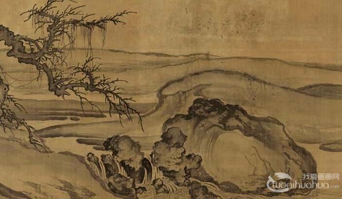 中国山水画作品欣赏_山水画图片大全_我爱画画网