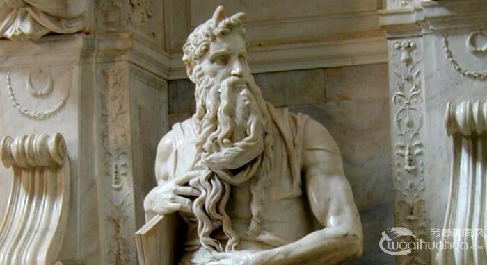 米开朗基罗《摩西像》_大理石雕像名作高清图文赏析