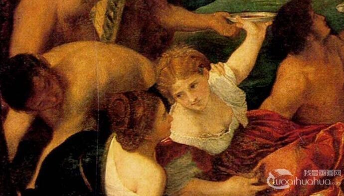 提香《酒神节》_一场人体油画艺术人物群像狂欢盛宴
