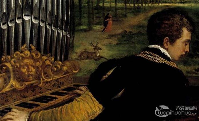 提香《沉醉在爱与音乐中的维纳斯》_提香人体油画艺术赏析