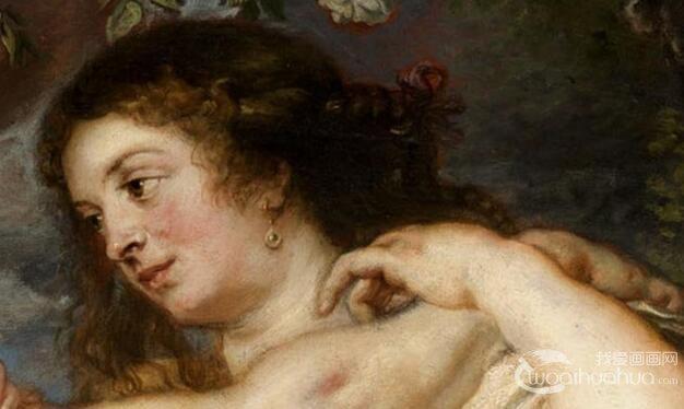 鲁本斯《三美神》_鲁本斯晚年神话题材人体艺术油画作品赏析
