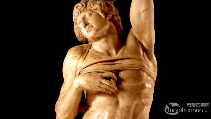 米开朗基罗《垂死的奴隶/入睡的奴隶》_人体艺术雕塑赏析