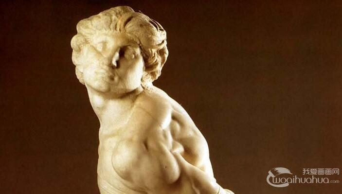 米开朗基罗《被缚的奴隶/反抗的奴隶》_人体艺术雕塑赏析