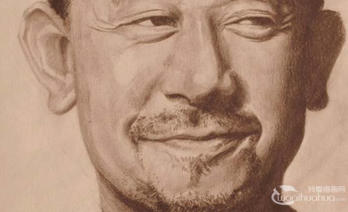 明星素描头像图片:张学友,姜文,金城武的头像画像素描