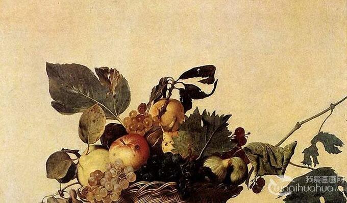 卡拉瓦乔《一篮水果》_美术史上的第一幅静物画,卡拉瓦乔早期代表