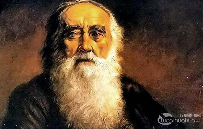 伦勃朗技法油画教程:《大胡子老人坐着的半身像》画法图文步骤