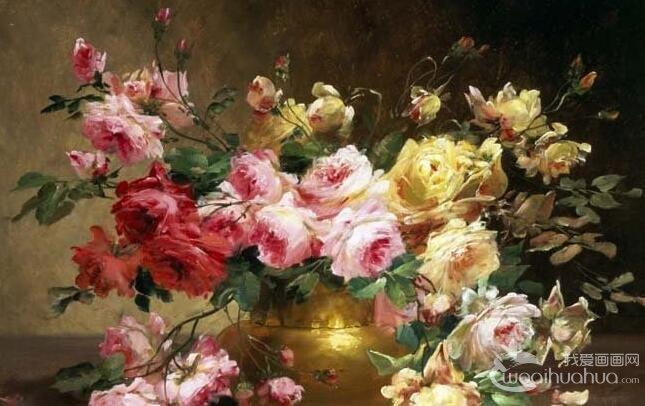 水粉画花卉的绘画技法:如何画好花卉水粉画作品
