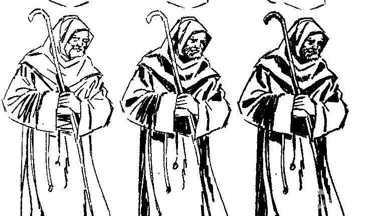 死神来了简笔画教程 关于死神的简笔画画法