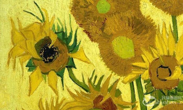 梵高《十五朵向日葵》_凡高两幅知名向日葵油画作品图文赏析