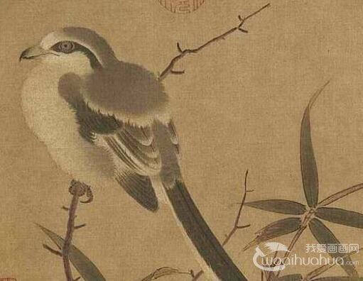 李安忠《竹鸠图》_李安忠具有代表性的工笔花鸟画作品赏析