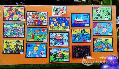 """2014第七届""""天真者的艺术―40个游戏""""自闭症儿童画展"""
