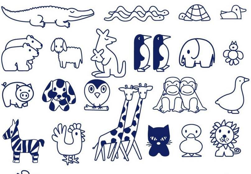 儿童美术教育一家之言:简笔画对儿童思维的危害-幼儿简笔画 我爱画