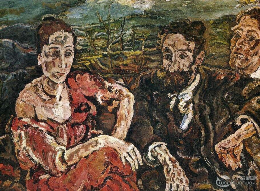 表现主义绘画:表现主义代表人物和代表作品