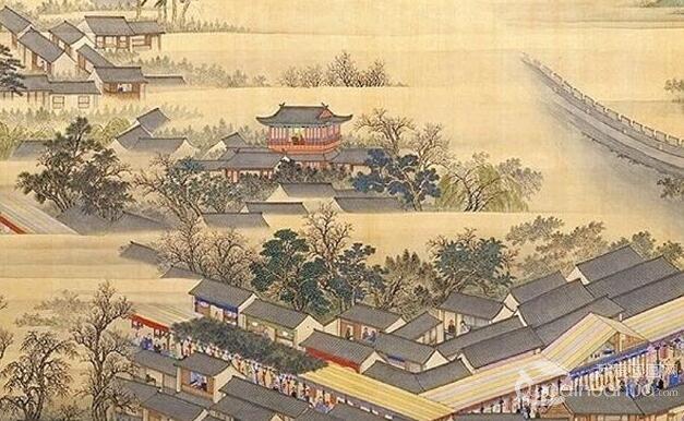 《康熙南巡图》第十卷:浙江北过句容至南京完整高清大图