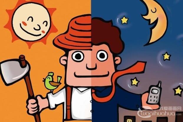 关于2014年五一劳动节的卡通绘画图片
