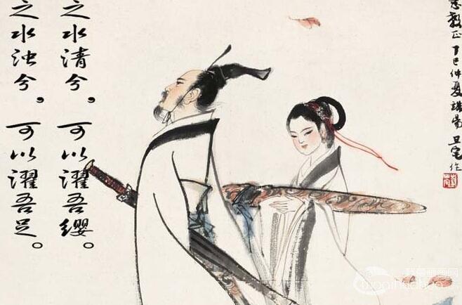 小学生绘制的关于古诗配画手抄报图片 8