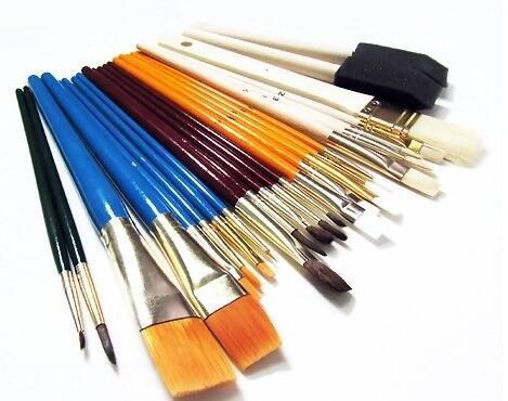 油画画笔的正确用法