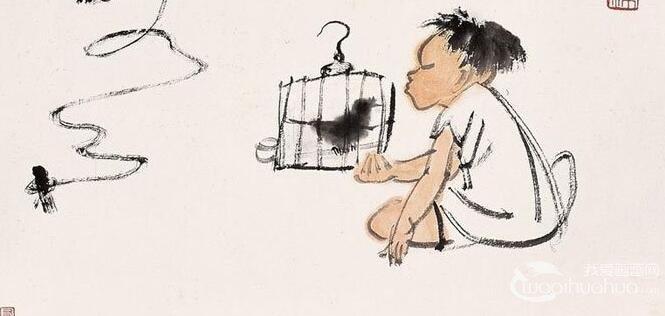 李可染_中国近代杰出的书画大师和诗人李可染简介