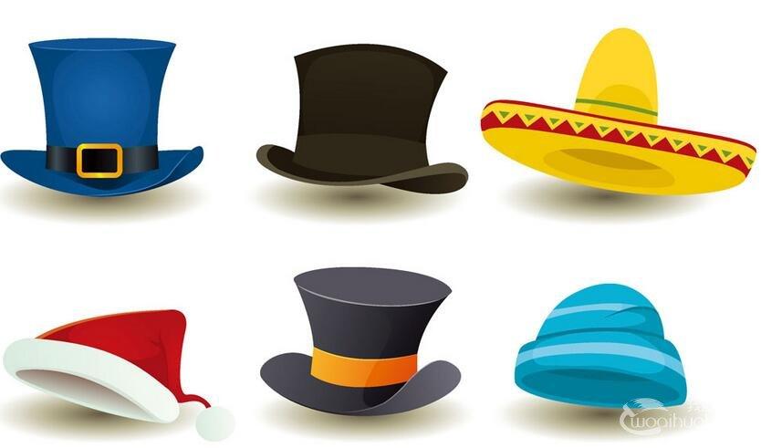 小学四年级美术教学案例:千变万化的帽子